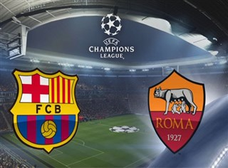 Champions League Quarter Final: FC Barcelona vs AS Roma