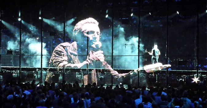 U2 live in Barcelona , Spain