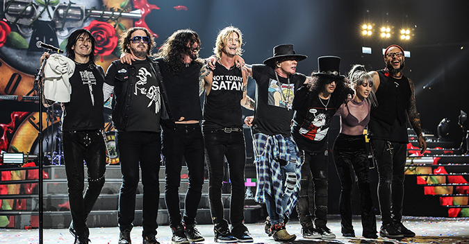 Guns N Roses in Barcelona