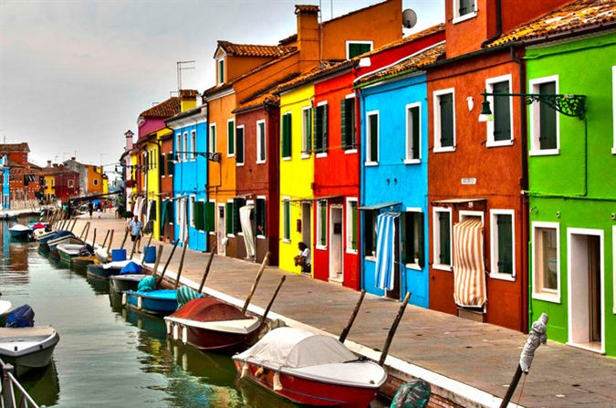 Venice, The Lagoon Islands And The Pô Delta