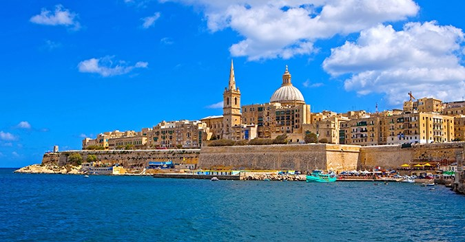 Italy, Spain, Balearic Islands & Malta