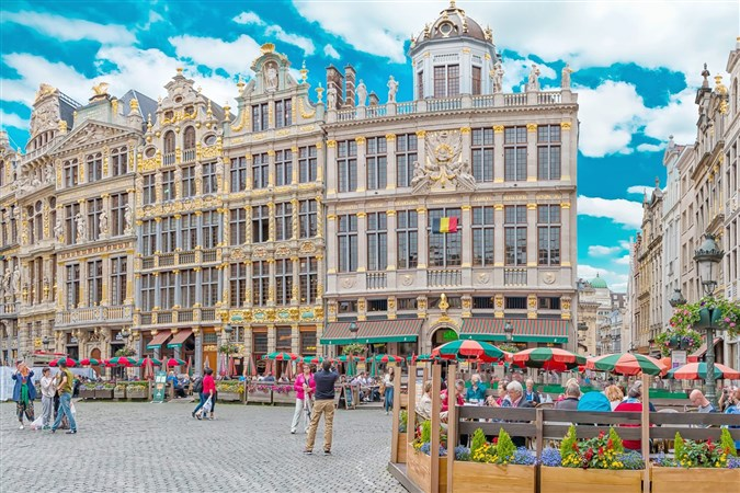 Paris, Brussels and Amsterdam